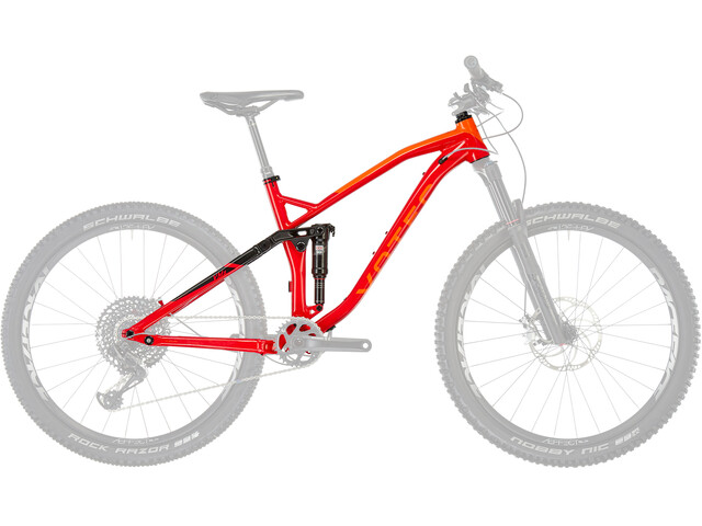 VOTEC VMS Framekit Frame red/black
